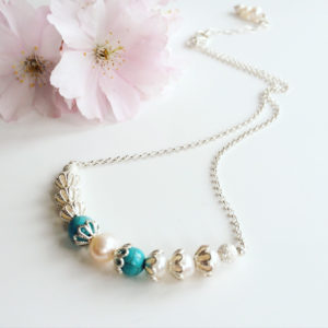 Turquoise Bridal Necklace | Me Me Jewellery
