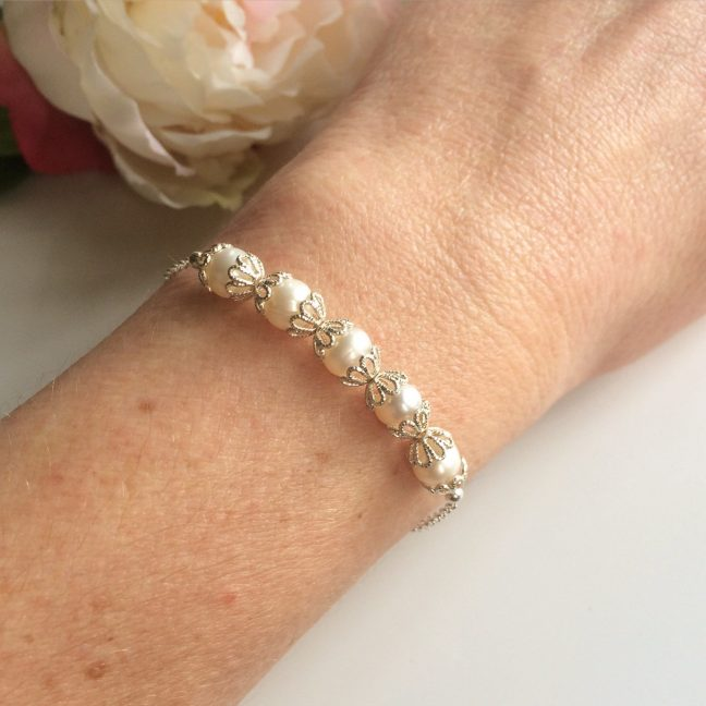 Silver Filigree Bracelet | Me Me Jewellery