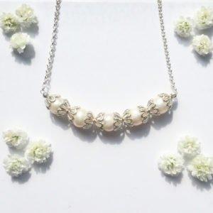 Silver Filigree Necklace | Me Me Jewellery
