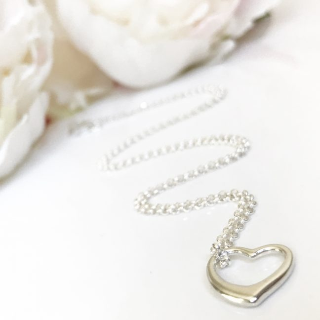 Heart necklace | By Me Me Jewellery