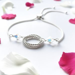 Eternity Slider Crystal Bracelet | By Me Me Jewellery