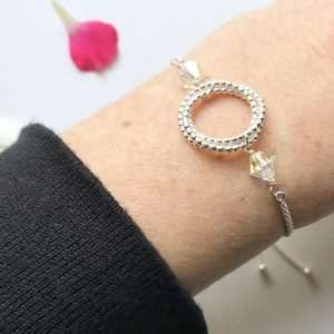 Crystal Slider Bracelet | By Me Me Jewellery