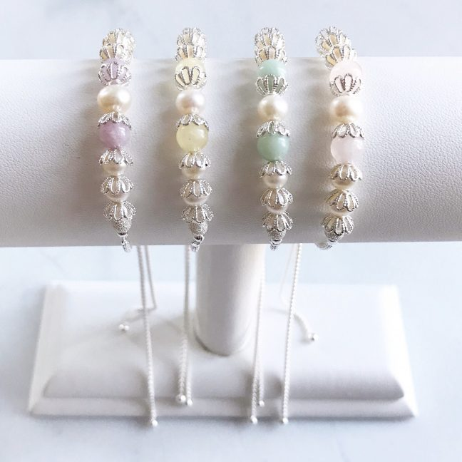 Pastel Shade Bracelets | By Me Me Jewellery
