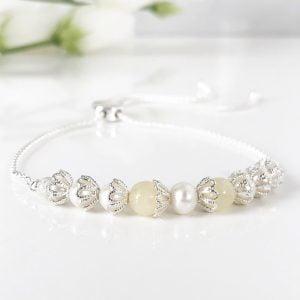 Honey Jade Bracelet | By Me Me Jewellery