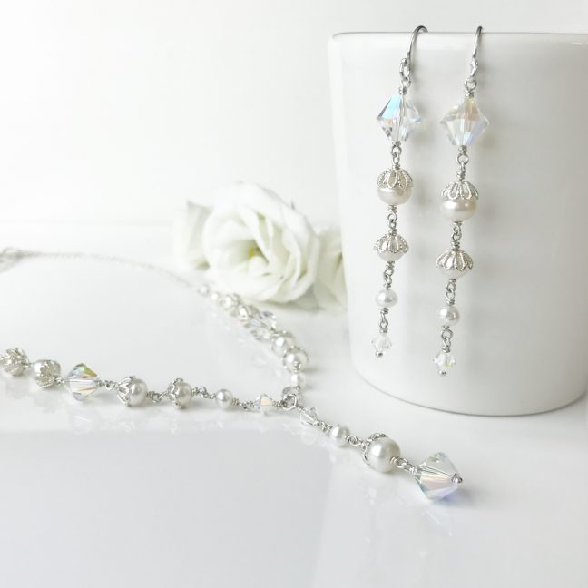 Crystal and Pearl Jewellery | By Me Me Jewellery