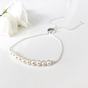 Pearl Slider Bracelet | By Me Me Jewellery