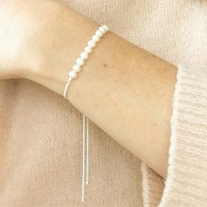 Freshwater Pearl Bracelet on Wrist | By Me Me Jewellery