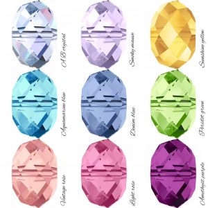 Swarovski Crystal Colours | Me Me Jewellery