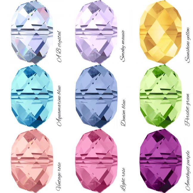 Swarovski Crystal Colours   Me Me Jewellery