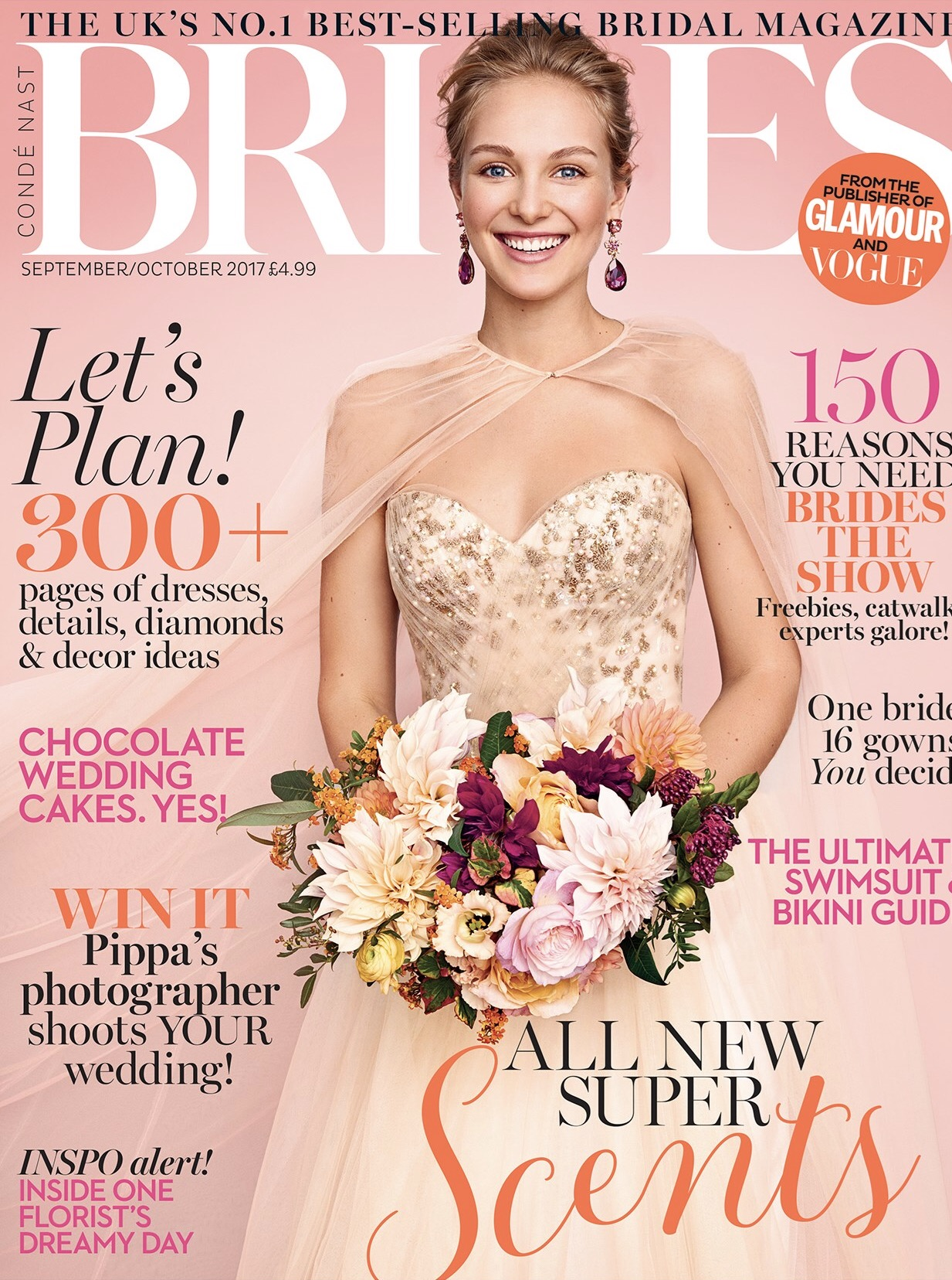 Brides Magazine | September 2017 | Me Me Jewellery
