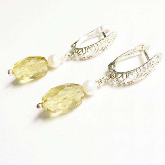 Filigree earrings   By Me Me Jewellery