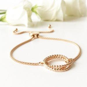 Rose Gold Eternity Bracelet | Me Me Jewellery