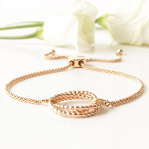 Rose Gold Bridal Bracelet | Me Me Jewellery