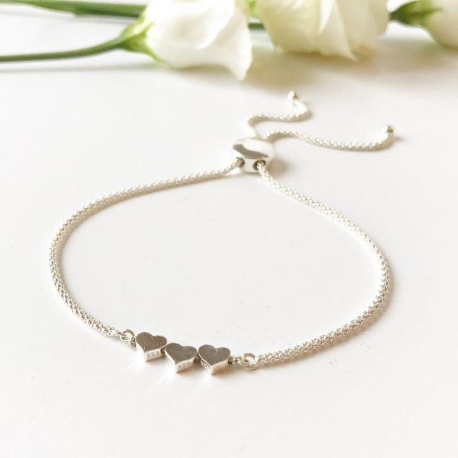 Silver Heart Bracelet | Me Me Jewellery