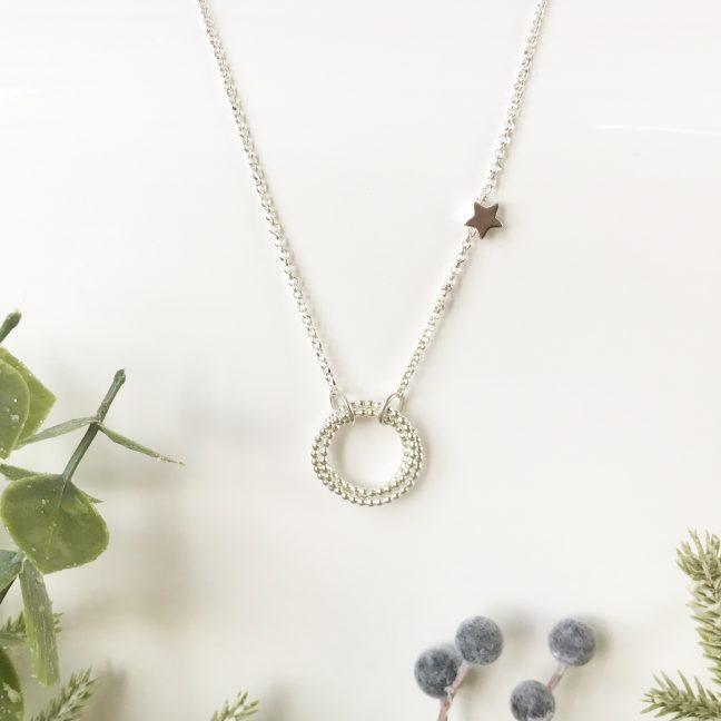 Silver Eternity Necklace | Me Me Jewellery