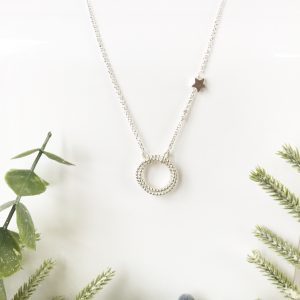 Eternity Necklace with Star | Me Me Jewellery