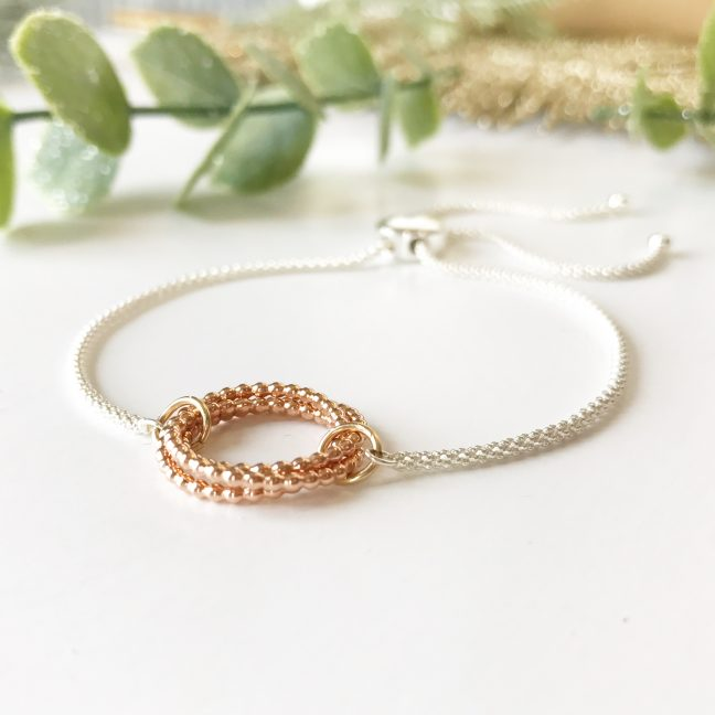 Eternity Slider Bracelet | Me Me Jewellery