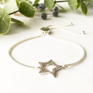 Diamond Star Bracelet | Me Me Jewellery