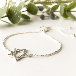 0.22ct Diamond Star Bracelet | Me Me Jewellery