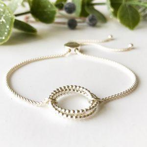 Silver Eternity Bracelet | Me Me Jewellery