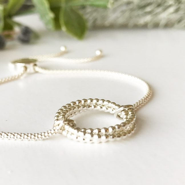 Silver Slider Bracelet | Me Me Jewellery