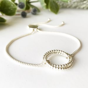 Sterling Silver Eternity Bracelet | Me Me Jewellery