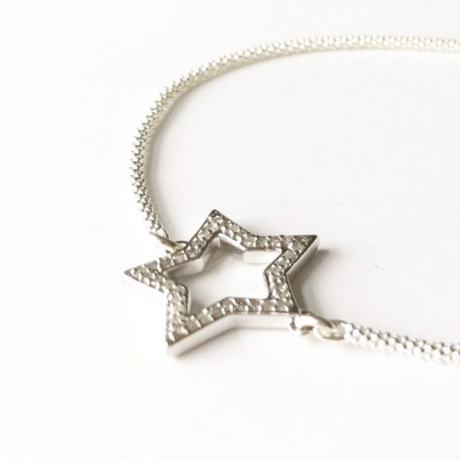 Luxury Diamond Star Bracelet | Me Me Jewellery