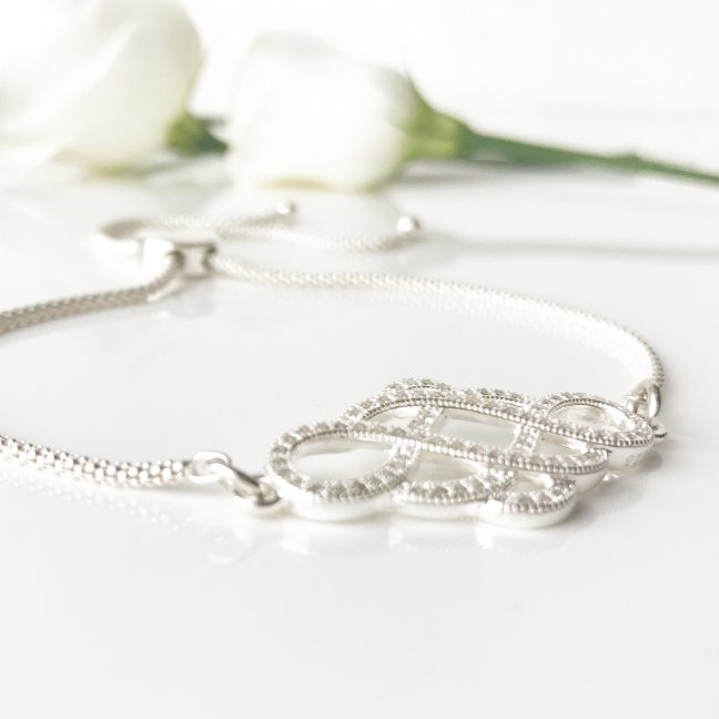 Adjustable Bridal Bracelet | Me Me Jewellery