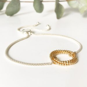 Gold bridal bracelet | Me Me Jewellery