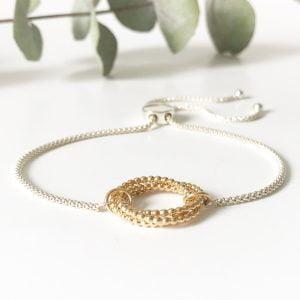 Gold Eternity Bracelet | Me Me Jewellery