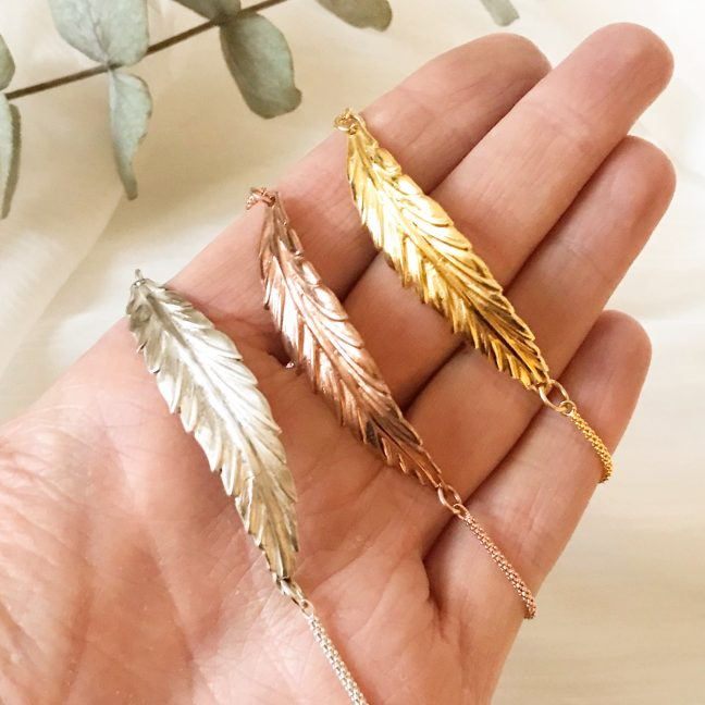 Feather Bracelets | Me Me Jewellery