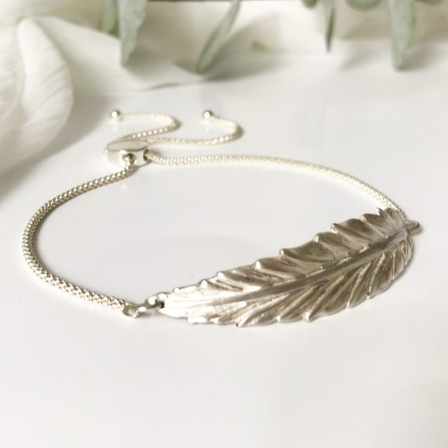 Boho Feather Bracelet | Me Me Jewellery