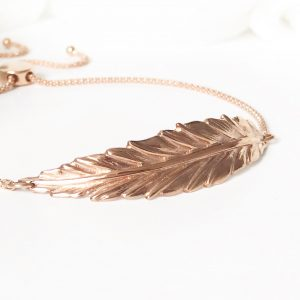 Rose Gold Boho Bracelet | Me Me Jewellery
