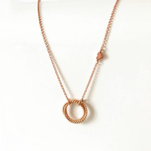 Rose gold infinity necklace | Me Me Jewellery