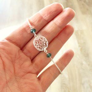 Teal Crystal Bracelet | Me Me Bracelet | Me Me Bracelet
