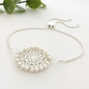 Dream Catcher Bracelet with Swarovski Crystals | Me Me Jewellery