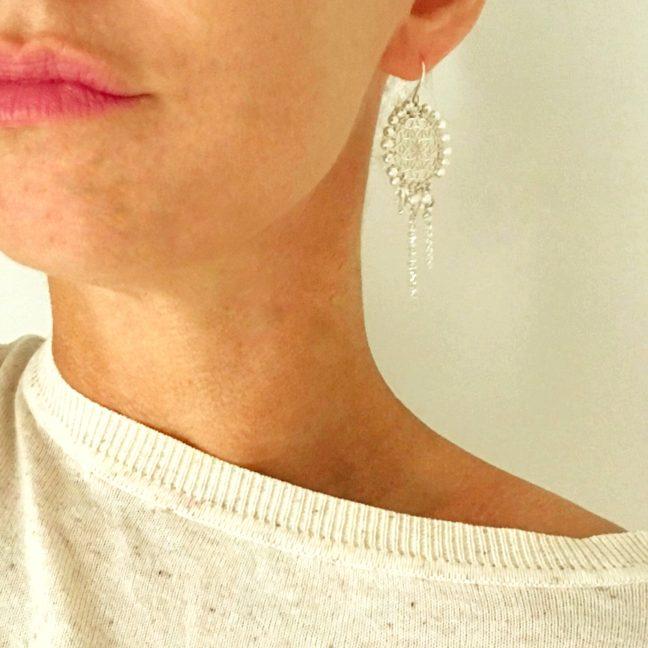 Dreamcatcher Style Earrings | Me Me Jewellery