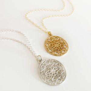 Mandala Necklace's | Me Me Jewellery