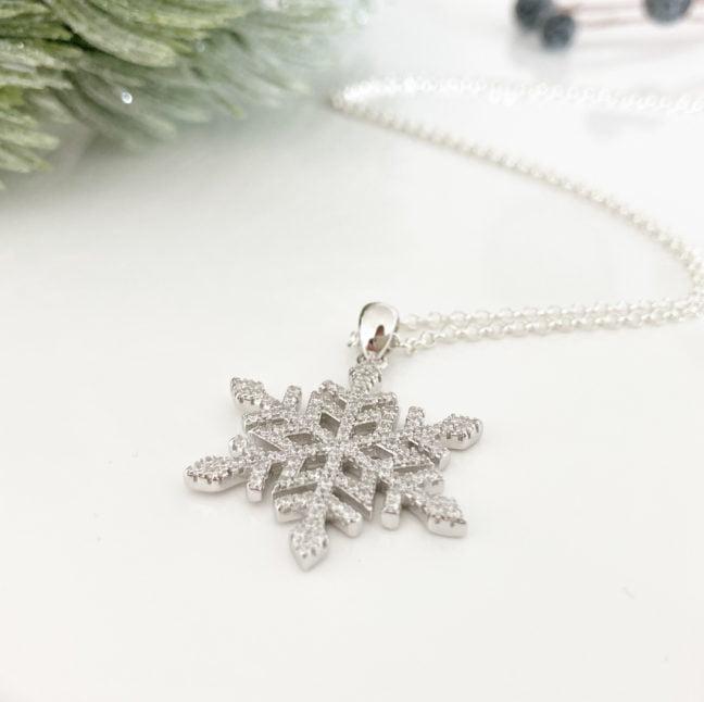Snowflake Necklace | Me Me Jewellery